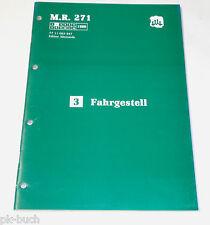 Werkstatthandbuch Renault Espace I Fahrgestell Lenkung ab 1984, St.02/1988