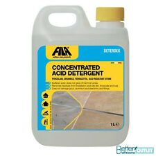 Acid Descaling Cleaner - Grout Residue Lime Deposit Rust Stain Tile Remover