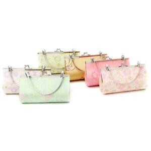 Floral Print Women Evening Handbags Banquet Bridal Small Ladies Clutch Purse Bag