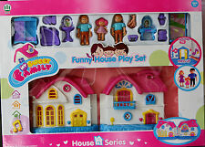 Large My Funny House Play Set My Sweet Family Kids Children Gift Pack Xmas