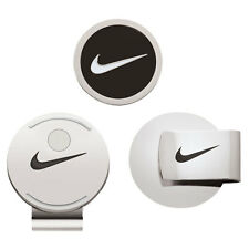 NIKE GOLF HAT CLIP & BALL MARKER BLACK / WHITE MAGNETIC NEW IN PACKAGE!! 17900