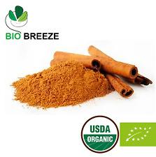 Ceylon Cinnamon Powder 100% Organic Cinnamomum zeylenicum- BIO BREEZE