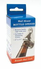 New listing Hic Wall Mount Bottle Opener - Remove Beer Soda Pop Bottle Top Caps with Ease