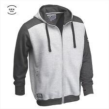 JCB Mens Hooded Full Zip Fleece Hoodie Regular Fit Jacket Two Tone Size S - 3XL