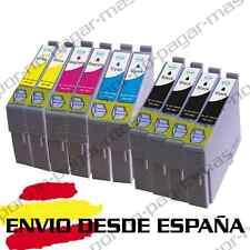 10 CARTUCHOS DE TINTA COMPATIBLE NON OEM PARA EPSON XP 212 | XP 225 T1811/2/3/4