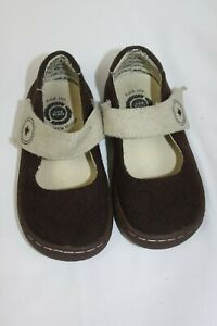 LIVIE AND LUCA baby girl toddler 8M  brown dress shoes