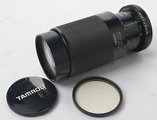 Tamron Adaptall 2 80-210mm f3.8-4 CF Tele Macro bb Bar MC + Hoya 58mm UV Filter