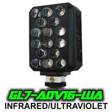 Ghost Light™ GL7-ADV16 IR/UV Extra Wide Angle LED Light for Full Spectrum Camera
