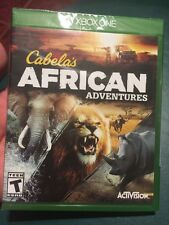Cabela's African Adventures (Microsoft Xbox One, 2015) Brand New Sealed Rare !
