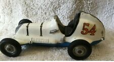 Roy Cox Thimble Drome Champion Tether car toy pusher Blue White Parts Included