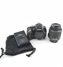 Nikon D5100 16.2MP Digital SLR Camera with 18-55mm lens, case, and accessories