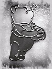 Cute Cartoon Bear Metal Cutting Die,Stencil,Crafts,Card Making,Scrapbooking,DIY