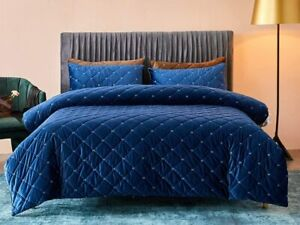 Deep Sleep Home 100% Velvet Soft Hand Feeling Solid Color Zipper Close No Inside