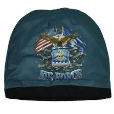 US Air Force Beanie Knit Skull Cap SAC ACC AMC Motorcycle Biker Hat Skiing USAF