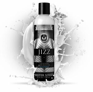 JIZZ CUM SCENTED WATER-BASED LUBE NON-STAINING FORMULA 8.5 OZ