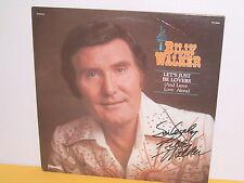 LP - BILLY WALKER - LET'S JUST BE LOVERS - SIGNIERT