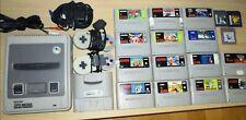 SNES Super Nintendo Entertainment System inklusive 17 Spielen und 2 Controllern
