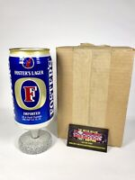 """Fosters Australian Lager Beer Can Beer Tap Handle 7.5"""" Tall Brand New In Box!"""