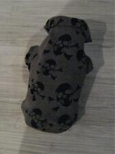XS-S-M  Skull Alpenfleece Hundebekleidung Hundemantel Hundepulli Hundepullover