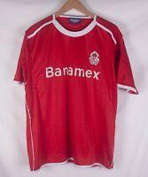 Deportivo Toluca Jersey Mexico Futbol Team Size M  **C1018a4