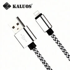 Long 2M 6FT Original Kaluos USB Cable for Apple iPhone 7 8 6S Plus 5S X Charger