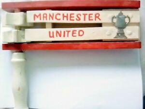 Manchester United FA Cup Vintage Football Rattle
