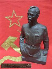 Material: Bronze Original KGB FOUNDER FELIX DZERZHINSKY desktop bust statue USSR