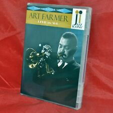 JAZZ ICONS DVD – Art Farmer Live in '64 with Booklet