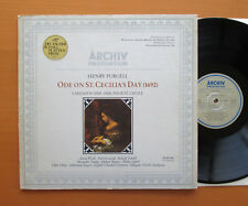 ARCHIV 2533 042 Purcell Ode On St. Cecilia's Day Charles Mackerras NM/EX Stereo
