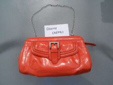 Calvin Klein Purse - Orange Patent Leather - NEW with small defects