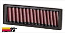 K&N Filtro Aria Sportivo 100% Cotone Lavabile Lancia Ypsilon Musa 1.2i 1.4i