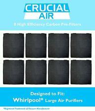 8 Crucial Air Air Purifier Carbon PreFilter Whirlpool AP300 AP350 AP450 8171434K