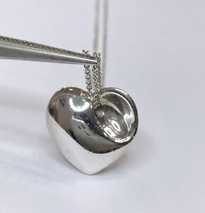 Tiffany & Co 925 Heart Necklace