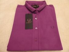 Nuevo BNWT Para Mujer Fred Perry Twin Tipped Amy Polo-Talla 8 - £ 34.95 & poste libre