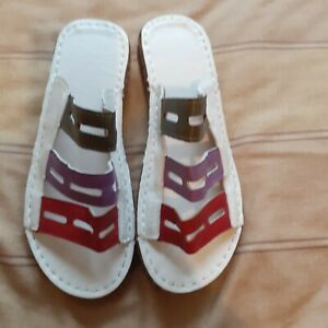 Multi-coloured Sandals 6 5