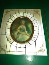 C18TH STYLE DECORATIVE PORTRAIT MINIATURE  OF A LADY