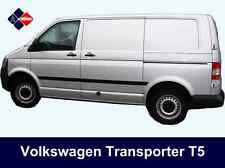 Volkswagen VW Transporter T5 SWB Rubbing Strips| Door Protectors| Side Mouldings