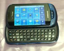Samsung Brightside QWERTY Slider Cell Phone, Blue, Verizon, Touch, Camera