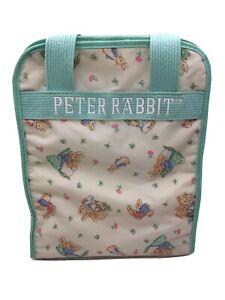 VTG Baby Diaper Bottle Bag Peter Rabbit Beatrix Potter Tote 11 x 9 x 5 Insulated