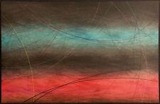 Cerj Lalonde Mixed Media Original Artwork on Paper #2, Hand Signed Fine Art, OBO