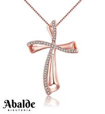 c04f909c9891 Collar Colgante Joya Mujer Diseño Cruz Color Plata Accesorio Regalo Madre  Novia