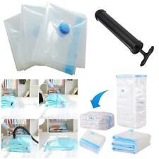Space Saver Vacuum Storage Bags VAC Bag Dust-Proof Reusable Vacum Seal Bag G6X0