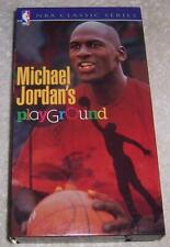Michael Jordan's Playground VHS Video NBA basketball