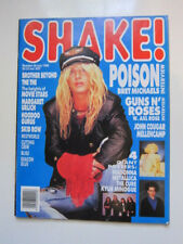 Auckland Shake 7/88 Poison Guns n Roses  posters: Madonna Cure Kylie Minogue