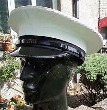 61 XL ROYAL NAVY PETTY OFFICERS Peaked CAP/HAT Military Visor RN Uniform Dress