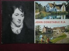 POSTCARD SUFFOLK JOHN CONSTABLE R.A. FLATFORD MILL