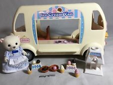 Calico critters/sylvanian families Ice Cream Van With Seller & Accessories