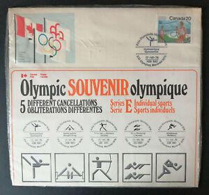 Canada Stamps 1976 Olympic Souvenir Pack Unopened Special Cancels