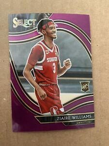 Zaire Williams 2021-22 Panini Chronicles Draft Rookie select Stanford 41/49