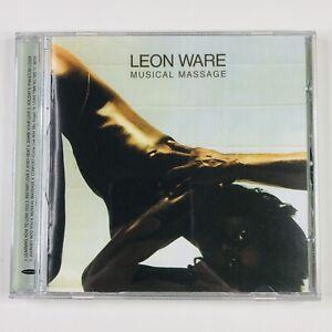 LEON WARE - Musical Massage RARE Album CD with Bonus Tracks - FREE UK P&P